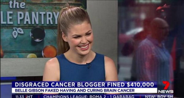 Belle Gibson television appearance